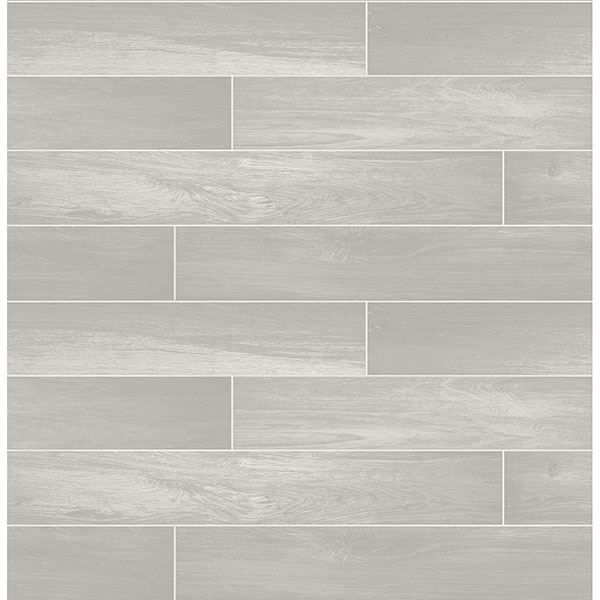 Picture of Nika Grey Sleek Wood Wallpaper