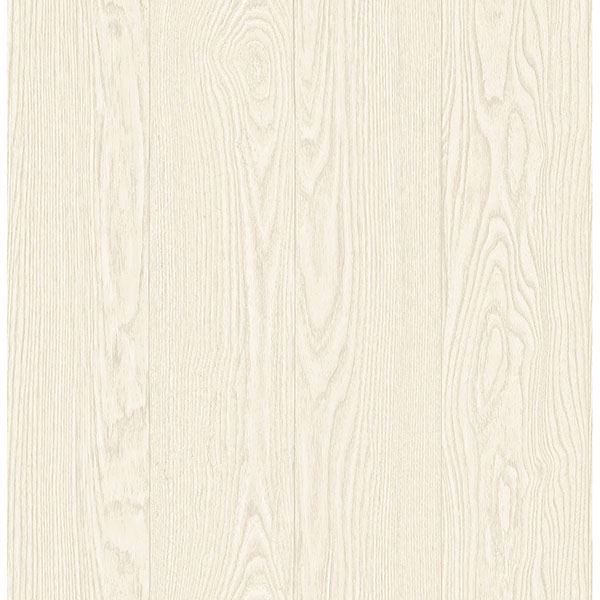 Picture of Remi Off-White Wood Wallpaper