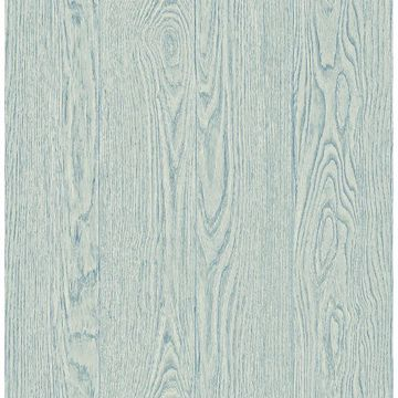 Picture of Remi Light Blue Wood Wallpaper
