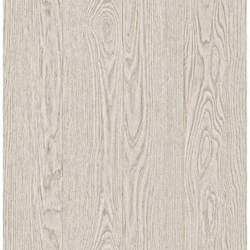 Picture of Remi Light Grey Wood Wallpaper