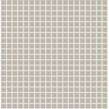 Picture of Tessellate Grey Glass Tile Wallpaper