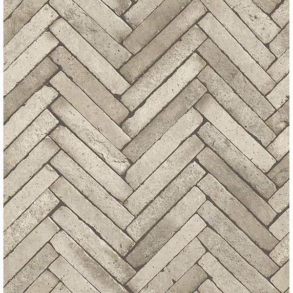 Picture of Arrow Neutral Diagonal Slate Wallpaper