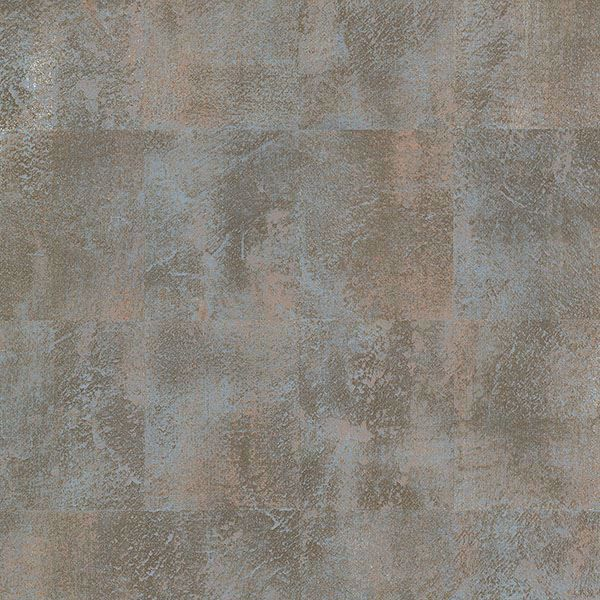 Picture of Azoic Blue Brushstroke Squares Wallpaper
