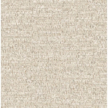 Picture of Burl White Small Faux Cork Wallpaper