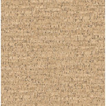 Picture of Burl Neutral Small Faux Cork Wallpaper