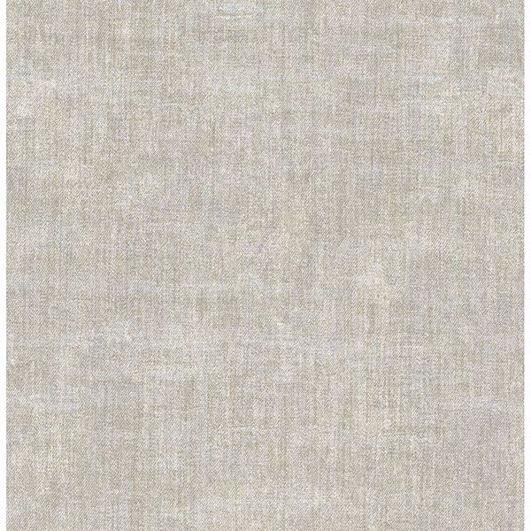 Picture of Stephen Light Grey Linen Wallpaper