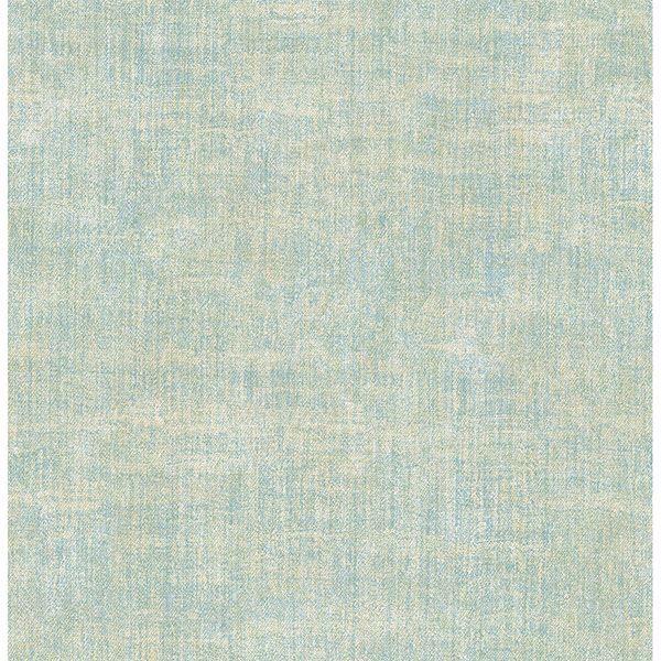Picture of Stephen Light Green Linen Wallpaper