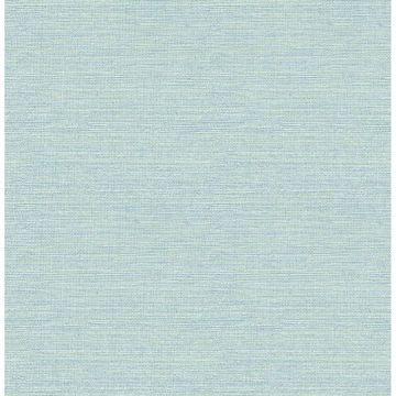 Picture of Bluestem Aqua Grasscloth Wallpaper