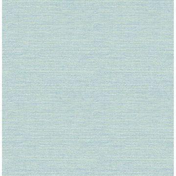 Picture of Bluestem Aqua Grasscloth Wallpaper