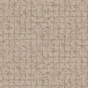 Picture of Stargazer Bronze Glitter Squares Wallpaper