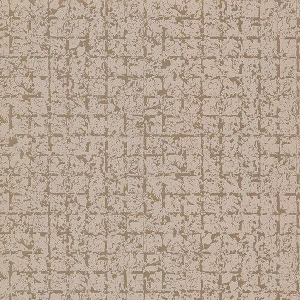 Picture of Stargazer Bronze Glitter Squares Wallpaper