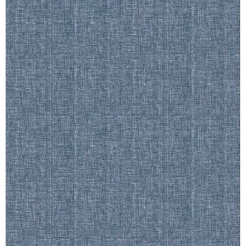 Picture of Sampson Dark Blue Oasis Wallpaper