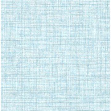 Picture of Tuckernuck Aqua Linen Wallpaper