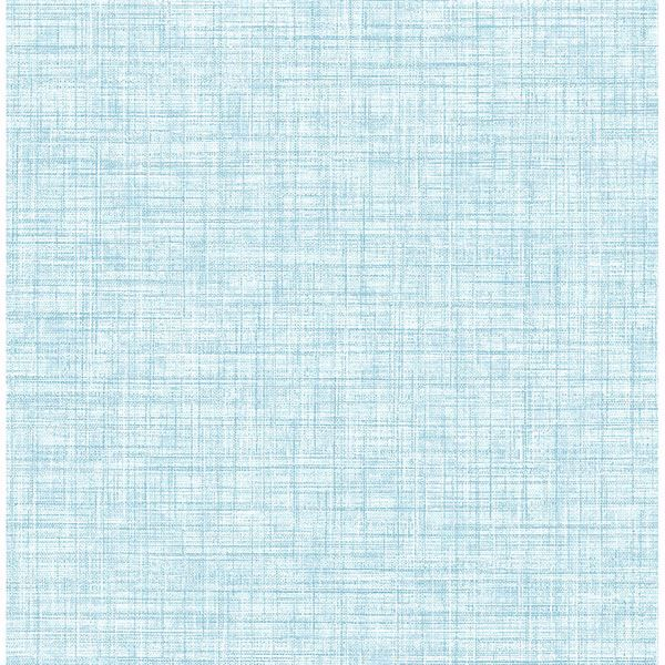 Picture of Tuckernuck Aqua Linen Wallpaper