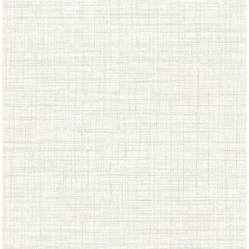 Picture of Tuckernuck Off-White Linen Wallpaper