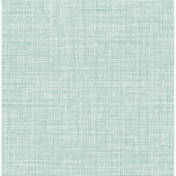 Picture of Tuckernuck Teal Linen Wallpaper