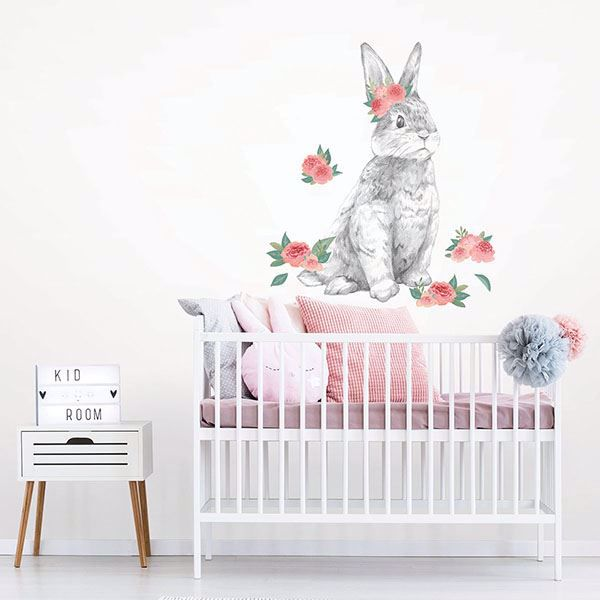 Picture of Tabitha the Bunny Wall Art Kit