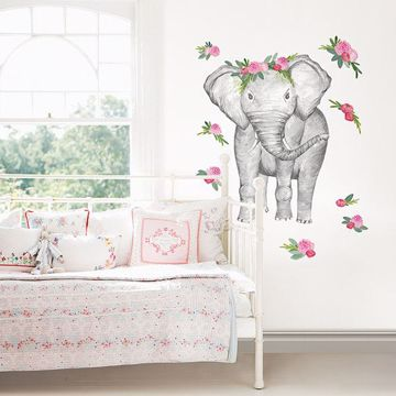 Picture of Penelope the Elephant Wall Art Kit
