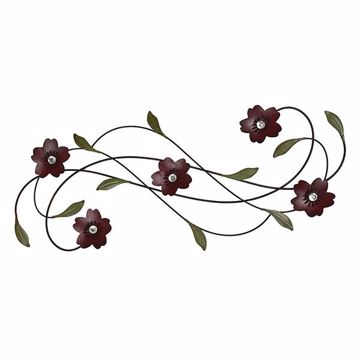 Picture of Adira Floral Metal Wall Art