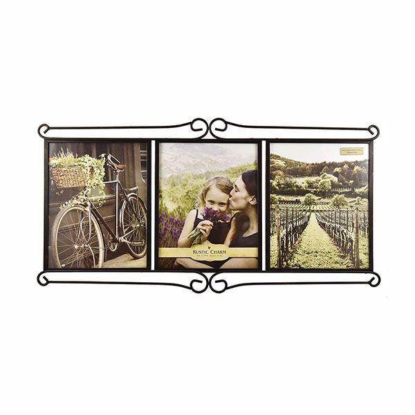 Picture of Alton Bronze 8x10 Triple Picture Frame