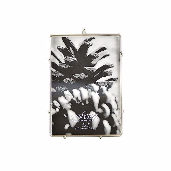 Picture of Franco Pewter 5x7 Press Picture Frame