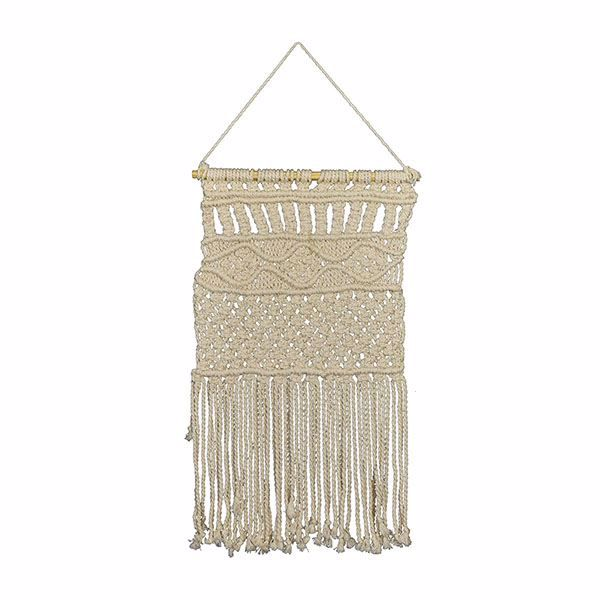 Picture of Mayco Ogee Macrame Wall Hanging