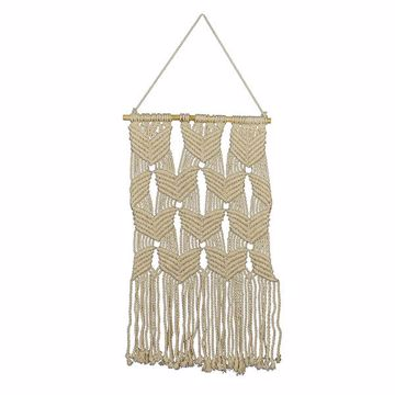 Picture of Mayco Beaded Macrame Wall Hanging