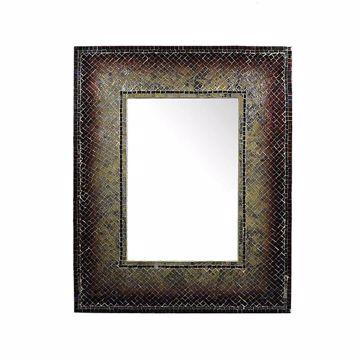 Picture of Sanco Mosaic Rectangular Mirror