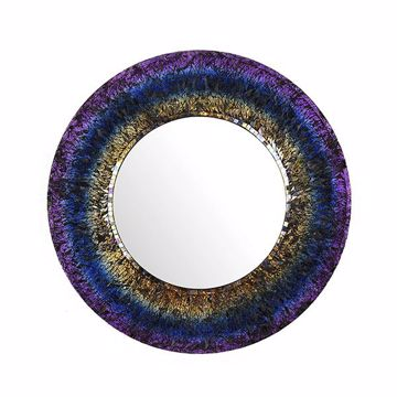Picture of Sansone Mosaic Round Mirror