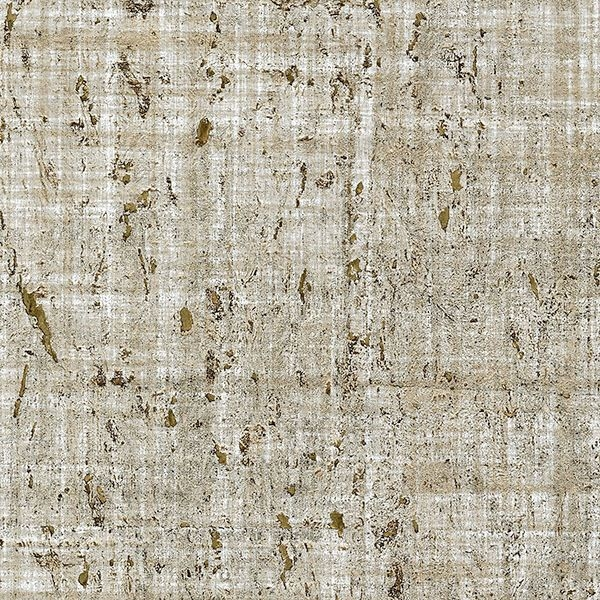 Picture of Samal Taupe Cork Wallpaper