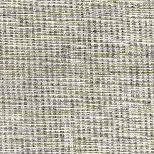 Picture of Nathan Silver Grasscloth Wallpaper