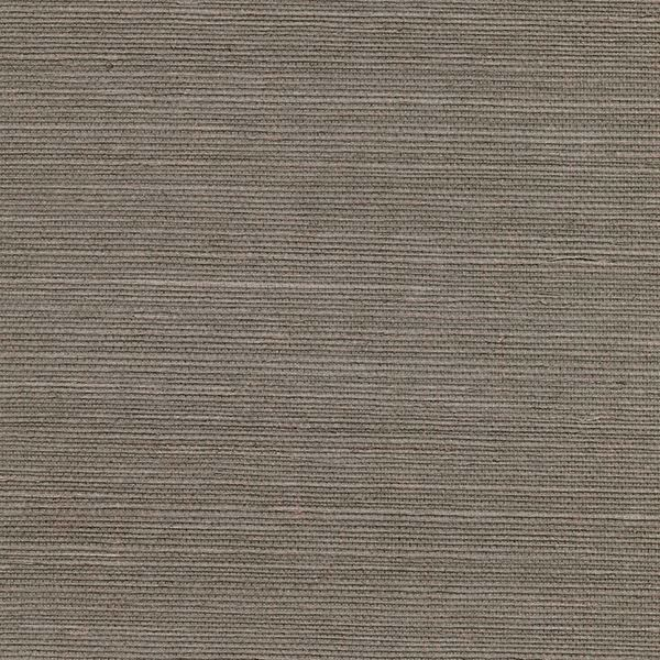 Picture of Ming Taupe Sisal Grasscloth Wallpaper
