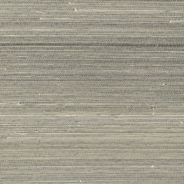 Picture of Hexi Grey Grasscloth Wallpaper