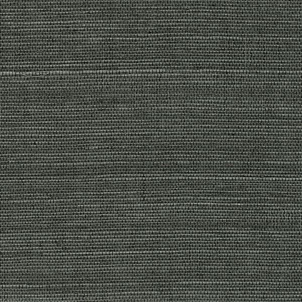 Picture of Kowloon Charcoal Sisal Grasscloth Wallpaper