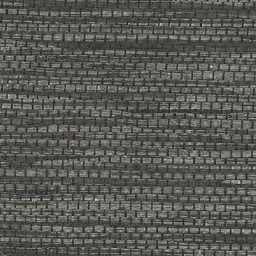 Picture of Cotabato Charcoal Grasscloth Wallpaper