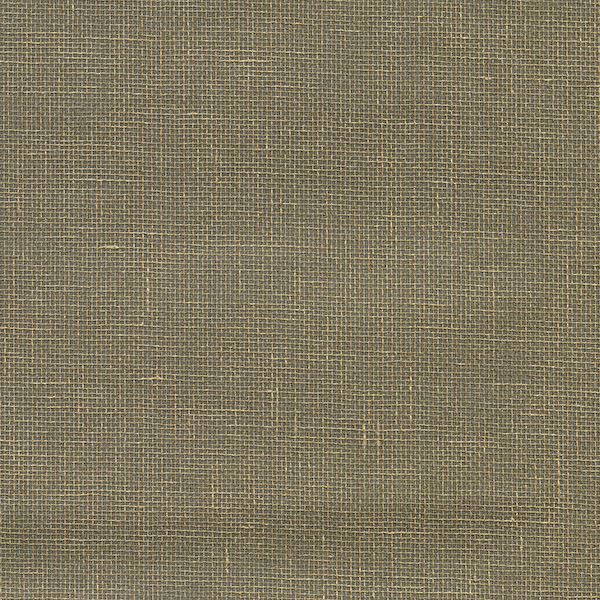 Picture of Leyte Pewter Grasscloth Wallpaper