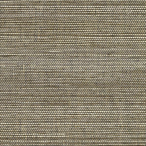 Picture of Yunnan Brown Grasscloth Wallpaper