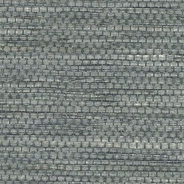 Picture of Cotabato Blue Grasscloth Wallpaper