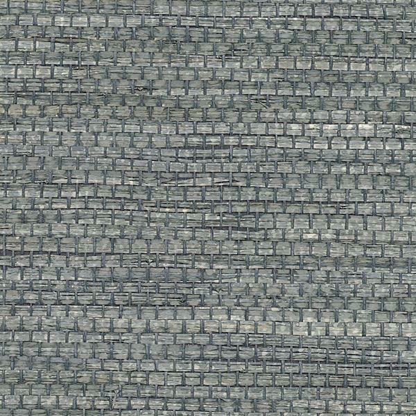 Picture of Cotabato Blue Grasscloth Wallpaper