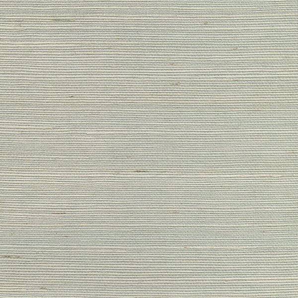 Picture of Nantong Light Blue Grasscloth Wallpaper