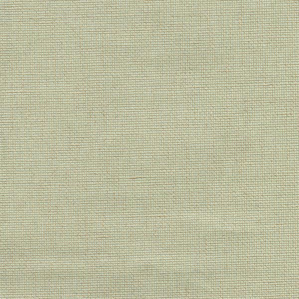 Picture of Leyte Sea Green Grasscloth Wallpaper