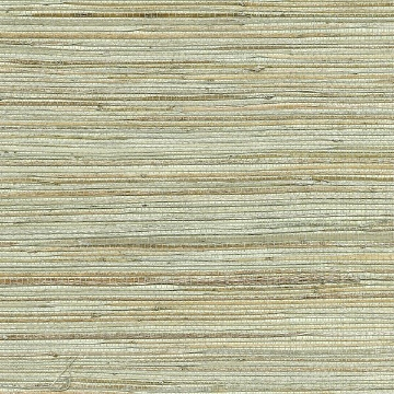 Picture of Shandong Sea Green Grasscloth Wallpaper