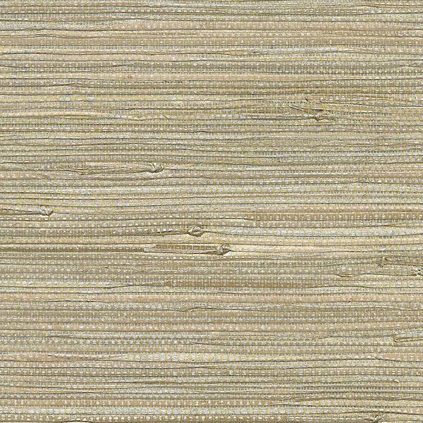 Picture of Iriga Platinum Grasscloth Wallpaper