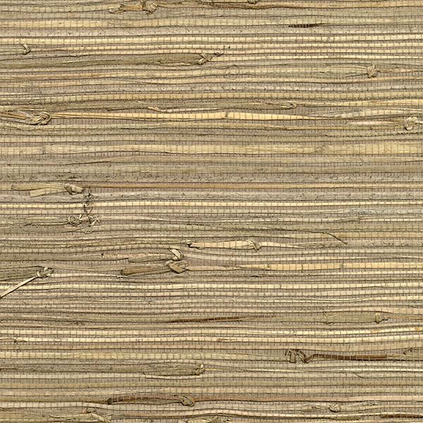 Picture of Anhui Brown Grasscloth Wallpaper