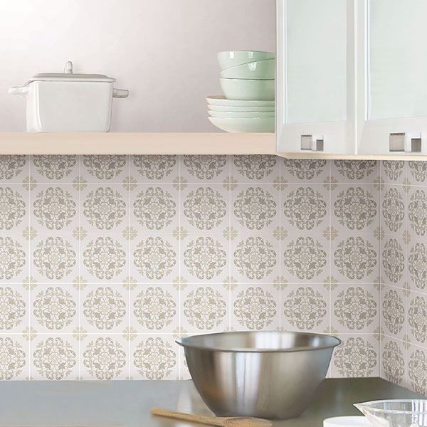 Picture of Oasis Tile Decal Kit