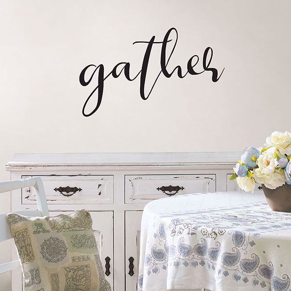Picture of Gather Wall Quote Decals