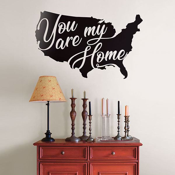 Picture of You Are My Home Wall Art Kit