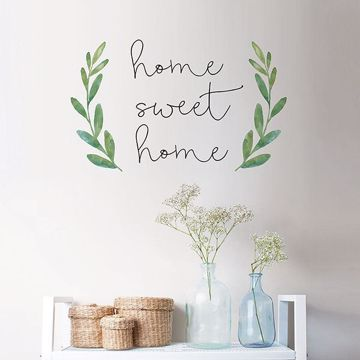 Picture of Home Sweet Home Wall Quote Decals
