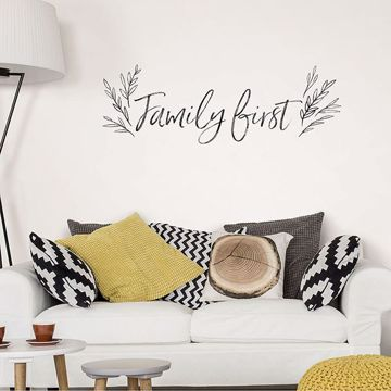 Picture of Family First Wall Quote Decals