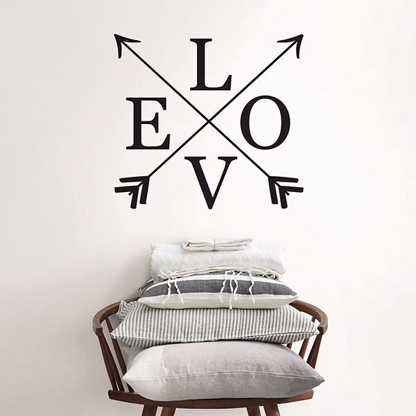 Picture of Follow Love Wall Quote Decals
